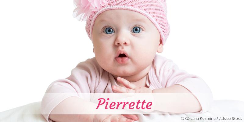 Name Pierrette als Bild