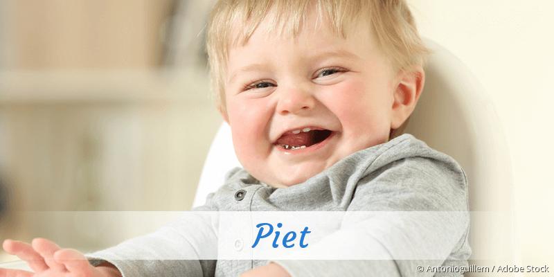 Name Piet als Bild
