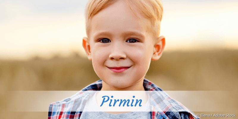Name Pirmin als Bild