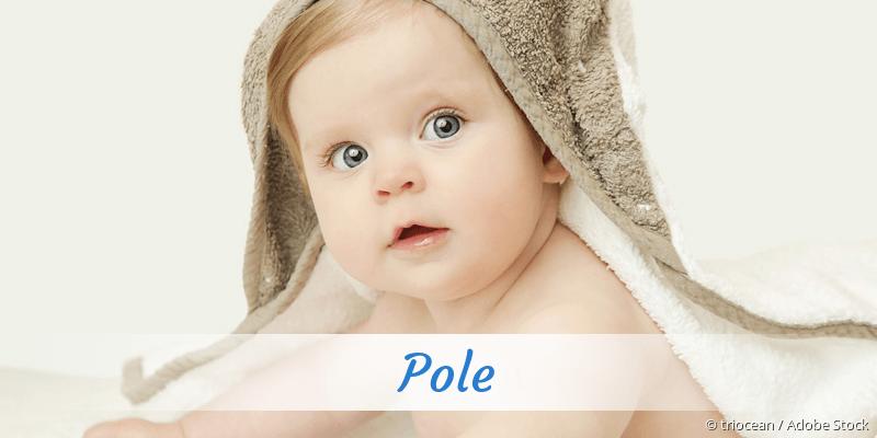 Name Pole als Bild