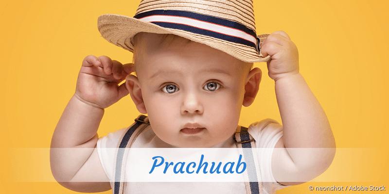 Name Prachuab als Bild