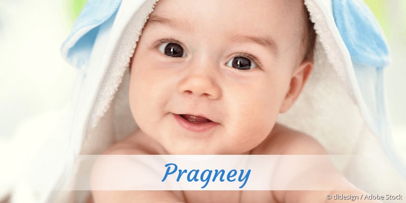 Name Pragney als Bild