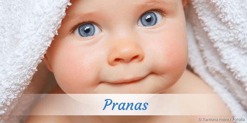 Name Pranas als Bild