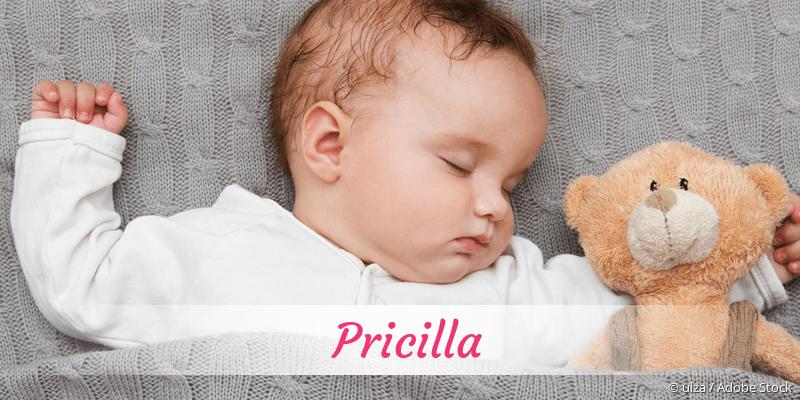 Name Pricilla als Bild