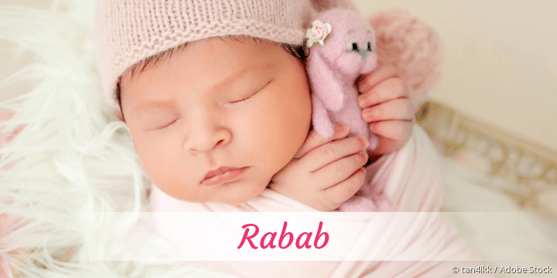 Name Rabab als Bild