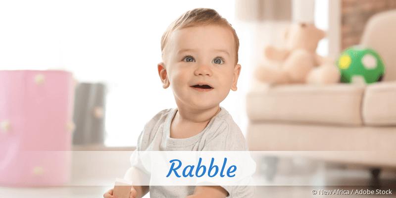Name Rabble als Bild