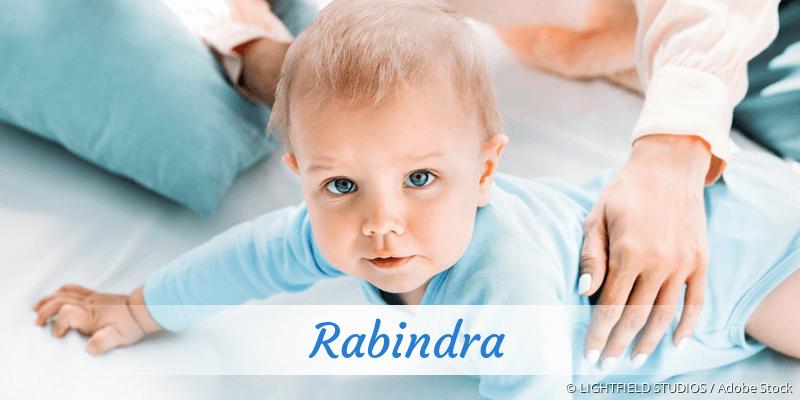 Name Rabindra als Bild