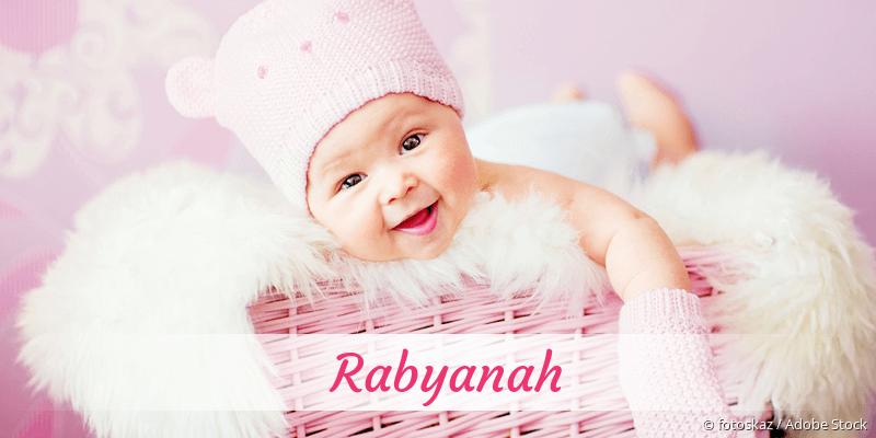 Name Rabyanah als Bild