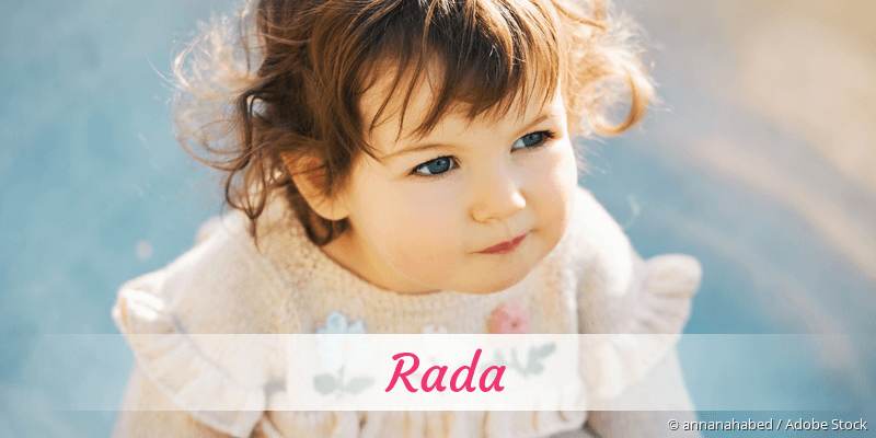 Name Rada als Bild