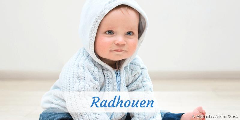 Name Radhouen als Bild