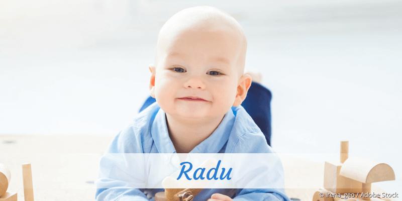 Name Radu als Bild