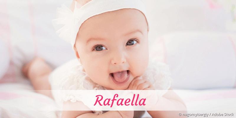 Name Rafaella als Bild