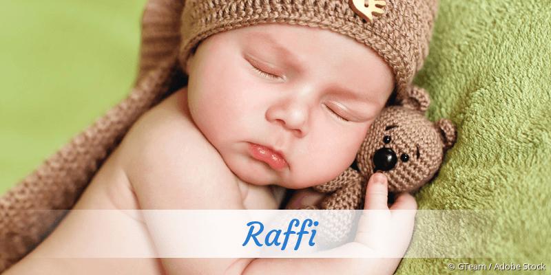 Name Raffi als Bild