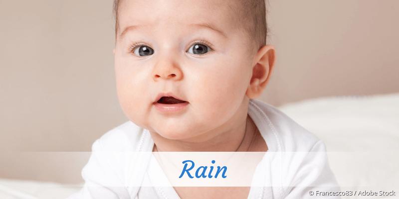 Name Rain als Bild