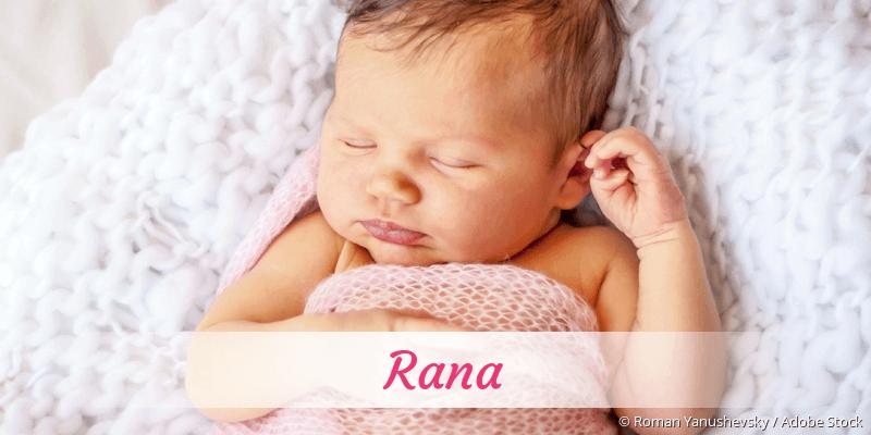 Name Rana als Bild