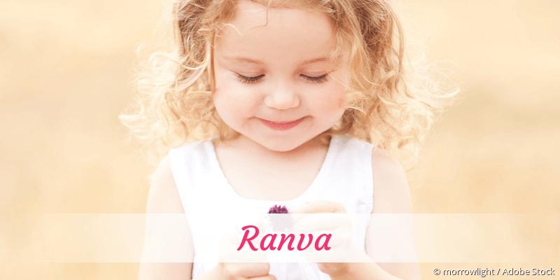 Name Ranva als Bild