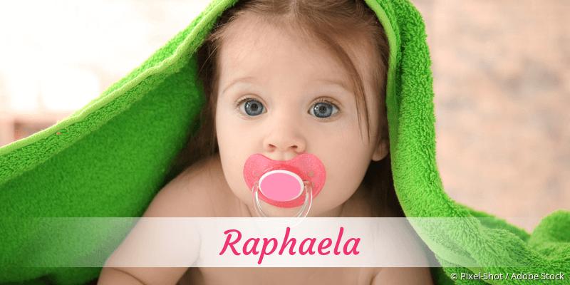 Name Raphaela als Bild