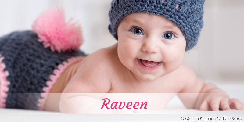 Name Raveen als Bild