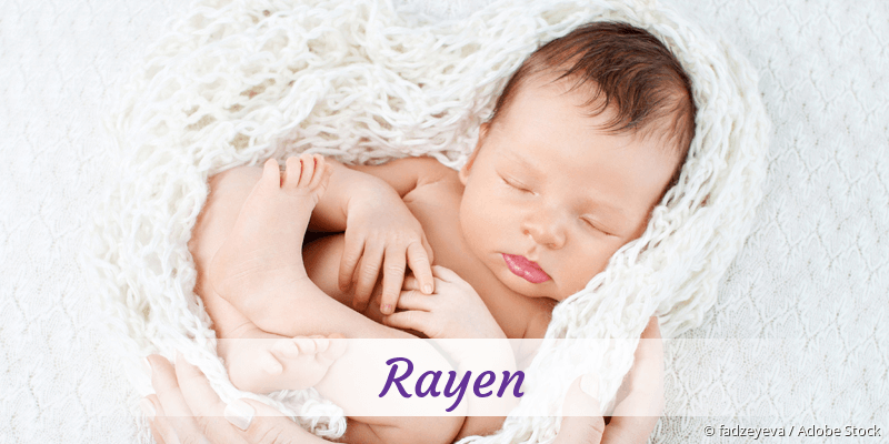 Name Rayen als Bild