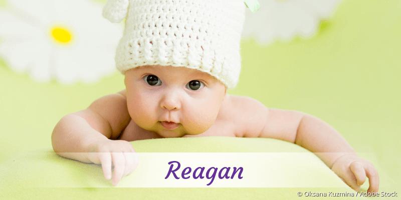 Name Reagan als Bild
