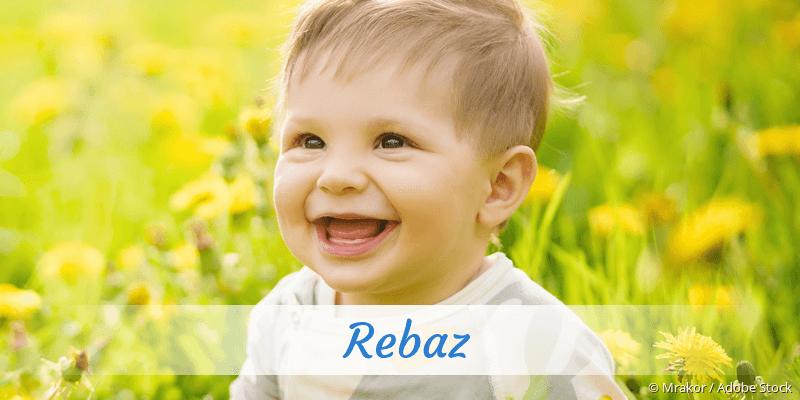 Name Rebaz als Bild