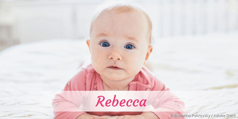 Name Rebecca als Bild