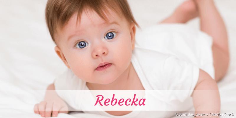 Name Rebecka als Bild