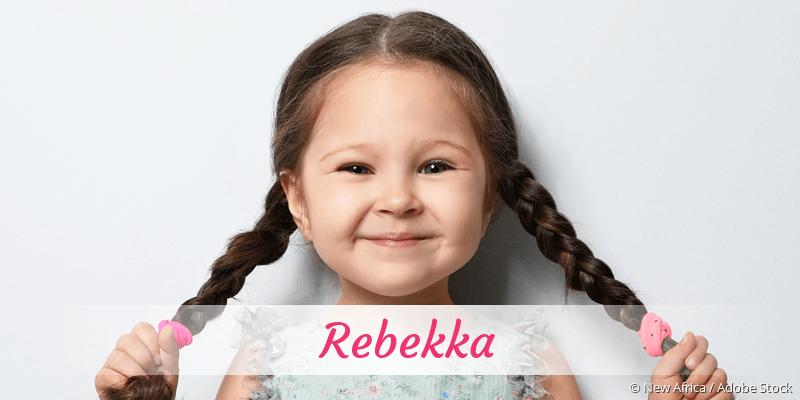 Name Rebekka als Bild