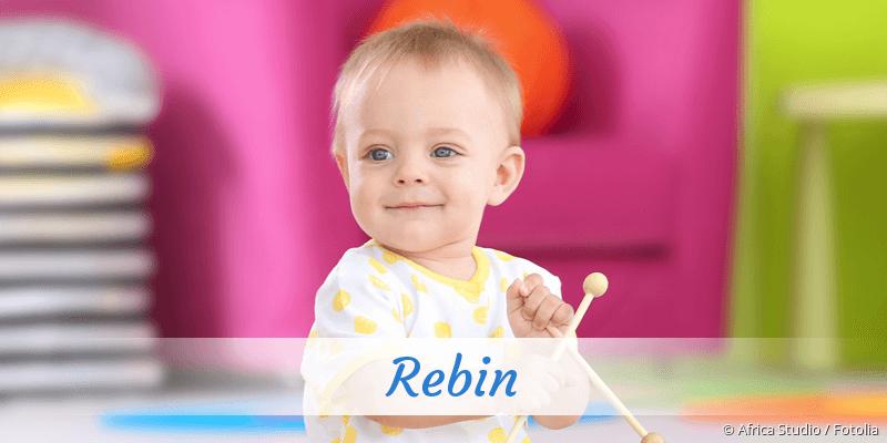 Name Rebin als Bild
