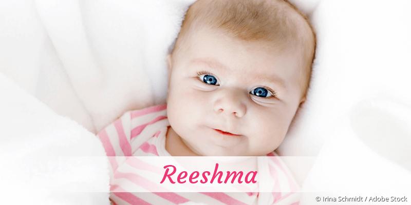 Name Reeshma als Bild