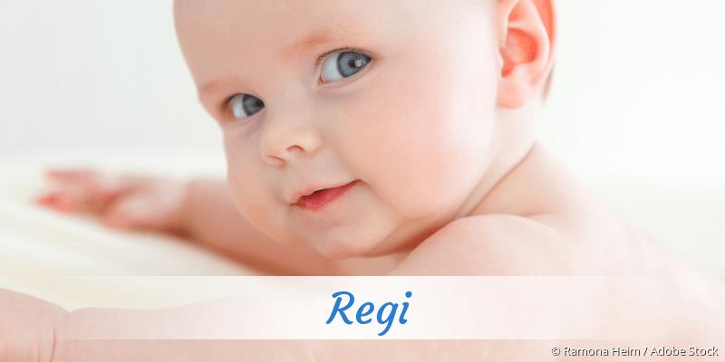 Name Regi als Bild