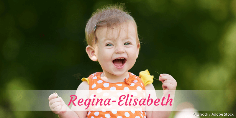 Name Regina-Elisabeth als Bild