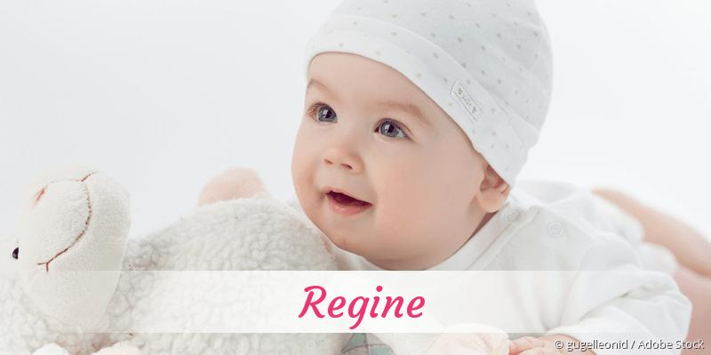 Name Regine als Bild