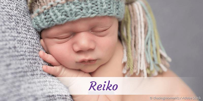 Name Reiko als Bild