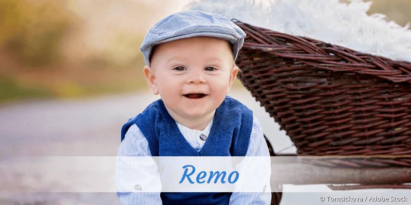 Name Remo als Bild