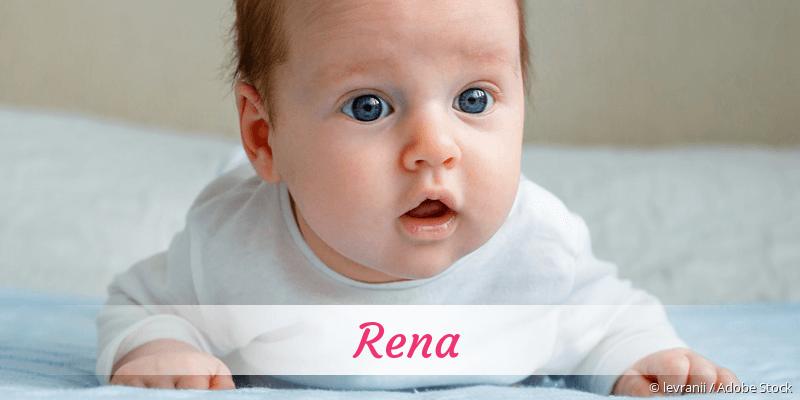 Name Rena als Bild
