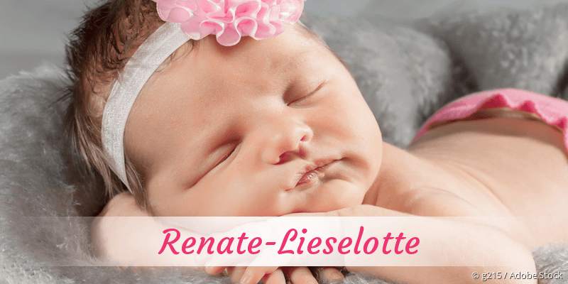 Name Renate-Lieselotte als Bild