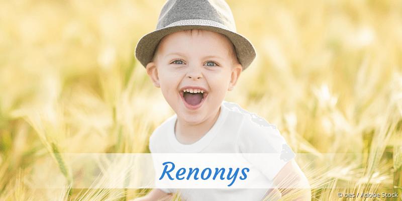 Name Renonys als Bild