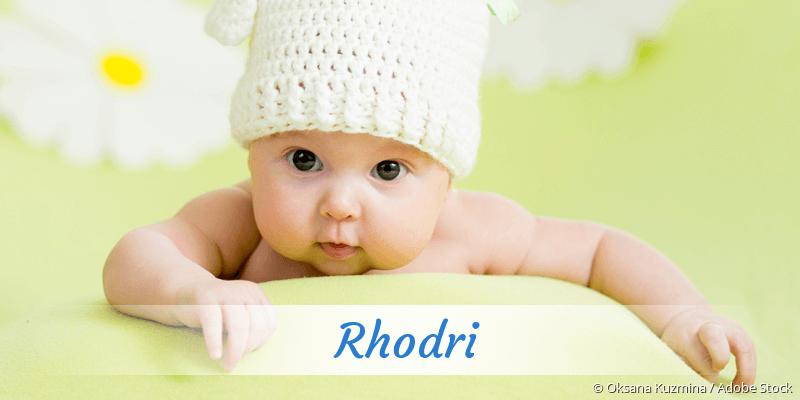 Name Rhodri als Bild