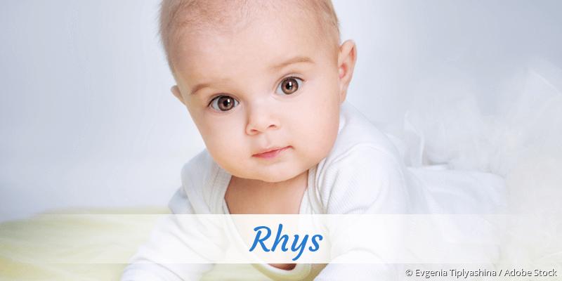 Name Rhys als Bild