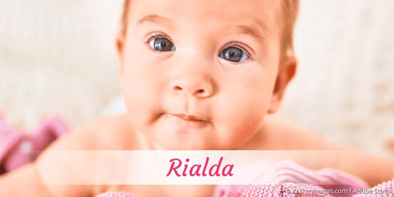 Name Rialda als Bild