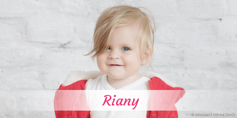 Name Riany als Bild