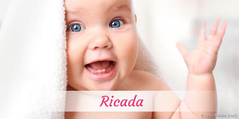 Name Ricada als Bild