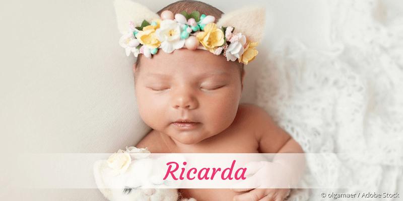 Name Ricarda als Bild