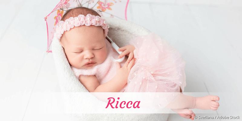 Name Ricca als Bild
