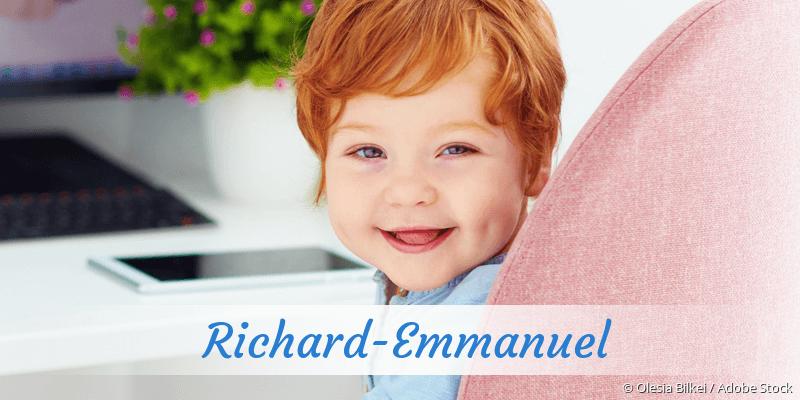 Name Richard-Emmanuel als Bild