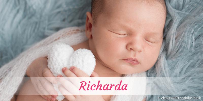 Name Richarda als Bild