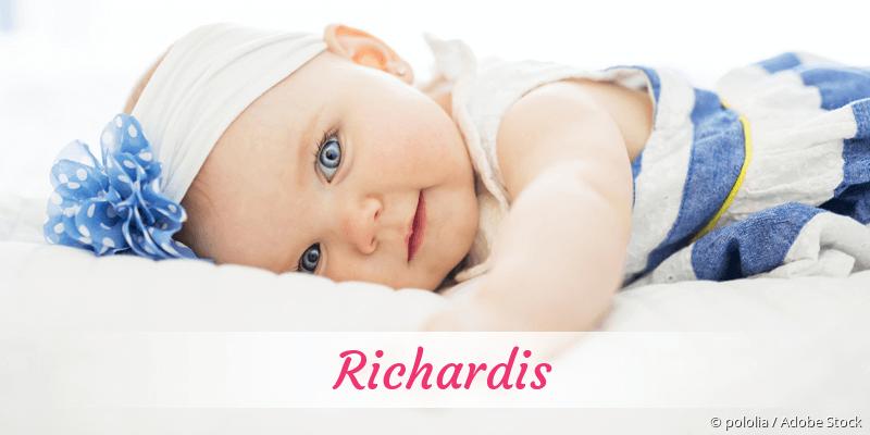Name Richardis als Bild
