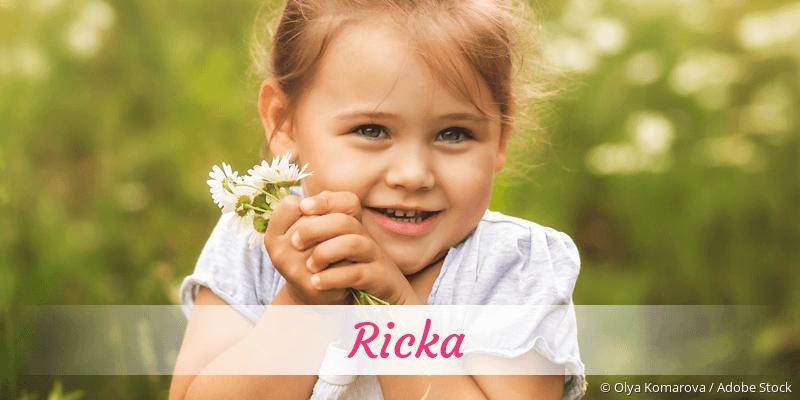 Name Ricka als Bild