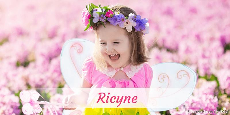 Name Ricyne als Bild